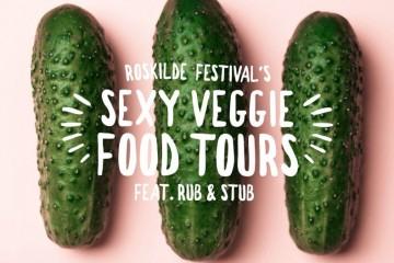 Sexy veggie food truck